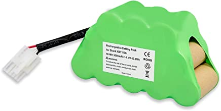 Amityke 14.4V 3000mah Battery Compatible for Shark XBT1106 SV1106 SV1112 Freestyle Navigator Cordless Stick Vacuum