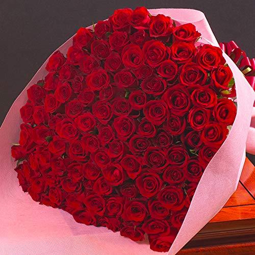 本数を選べる豪華な赤バラの花束(生花)