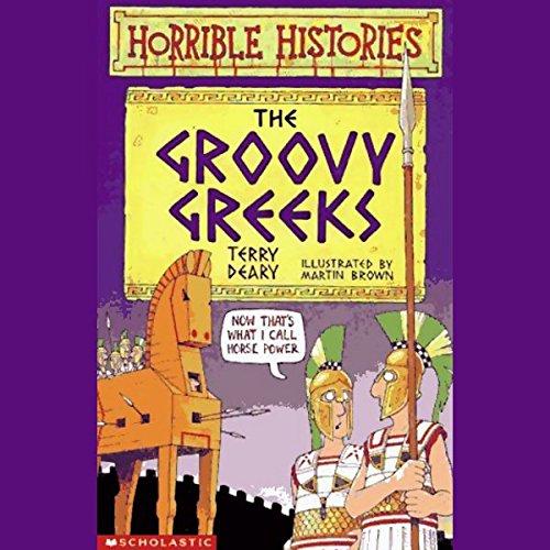 Horrible Histories audiobook cover art