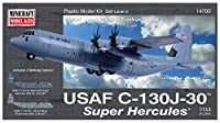 プラッツ 1/144 アメリカ空軍 C-130J-30 スーパーハーキュリーズ プラモデル MC14700