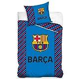 FCB FC Barcelona Bettwäsche - bedlinen - draps de Lit - Ropa de Cama - biancheria da letto 140x200cm FCB191005-PP