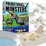 Juguetes De Excavación Arqueológica 3 En 1, Kit De Excavación Con Kit De Herramientas DIY Tyrannosaurus Rex Ictiosaurio Pterosaurio Juguete De Ensamblaje Juguete De Excavación De Dinosaurio Para Niños