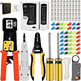 Mailine - Kit de herramientas de red profesionales, juego de herramientas de...