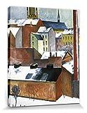 1art1 August Macke - Die Bonner Marienkirche Im Schnee,