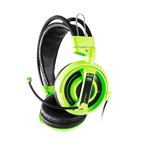 e-Blue Cobra I - Auriculares para Gaming Verde Verde