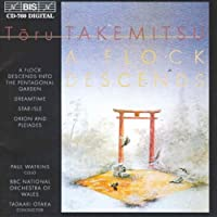 Takemitsu: Flock Descends into the Pentagonal Garden (A) by BBC National Orchestra of Wales (1996-11-25)