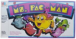 Ms. Pac-Man Board Game 1982 Milton Bradley Co
