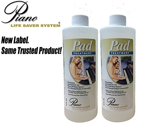 Dampp-Chaser - Piano Humidifier - Pad Treatment, 15oz - Combo 2 - 7.5 oz Bottles