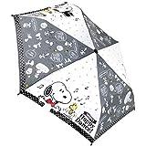 ジェイズプランニング 折畳傘 スヌーピー ハッピーダンス ブラック 53cm 90304