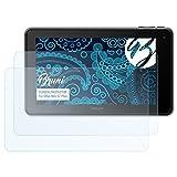 Bruni Schutzfolie kompatibel mit Odys Neo S7 Plus Folie, glasklare Bildschirmschutzfolie (2X)