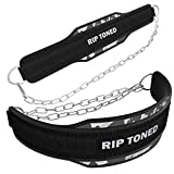 "Rip Toned Dip Belt with Chain - 36"" Heavy Duty Steel Chain"