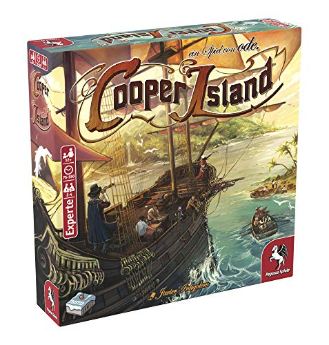 Pegasus Spiele 57311G - Cooper Island (Frosted Games)