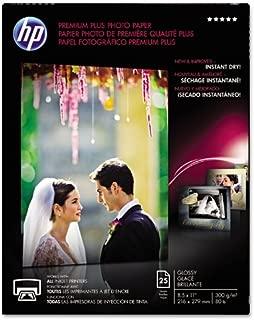 Hp Premium Plus Photo Paper - For Inkjet Print - Letter - 8.50 X 11 - 300 G/m - Glossy - 25 / Pack