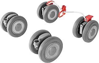 Maclaren Techno XLR Vorder  und Hinterräder   Passt sicher auf Techno XLR Buggys, um noch mehr Kilometer zurückzulegen. Erhältlich in silber