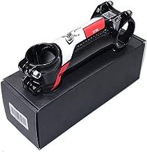 Alliage daluminium, l/éger, Noir BMX v/élo Generp Potence de VTT r/églable de 0 /à 60 degr/és pour v/élo de Route VTT