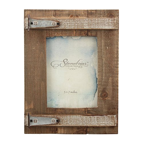 (55% OFF Deal) Rustic Natural Wood Picture Frame – 5×7″ $13.54