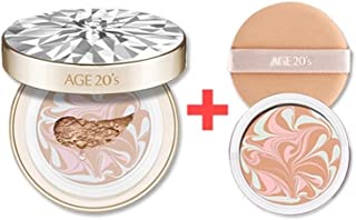 [Limited Edition] Age 20's Essence Cover Pact RX 12.5g (0.44oz) include Refill - Korean Cosmetics (No.23 Medium Beige)