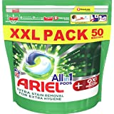 Ariel + Oxi Stain Removers All in 1 Pods 50 Washes