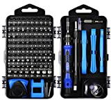 ORIA Precision Screwdriver Set, 120 in 1 Screwdriver Kit with 101 Bits, Mini Magnetic Screwdriver Set, Computer Repair Tool Kit for iPhone, PC, Toys, Computer