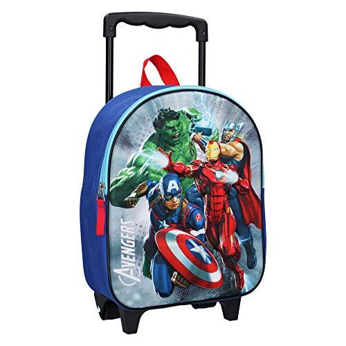 Cartable à roulettes Avengers 3D