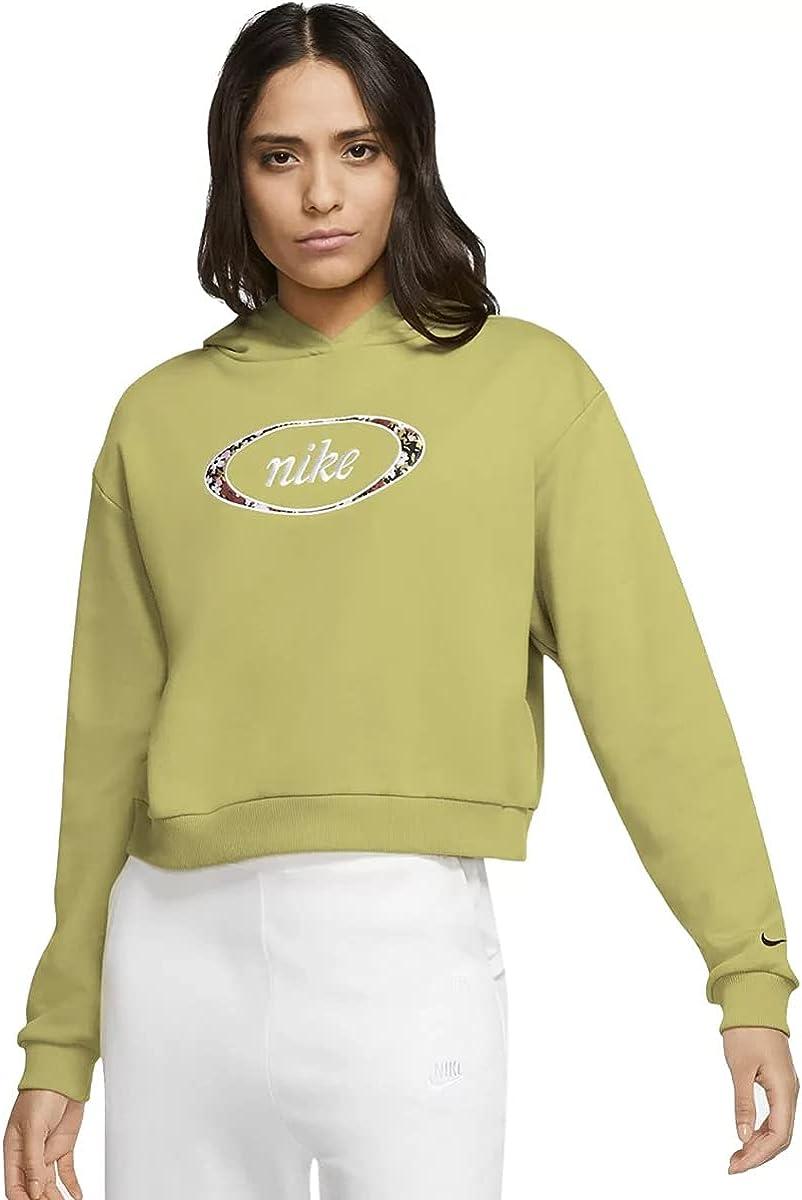 Plus Size Nike Sportswear Crop Fleece Hoodie