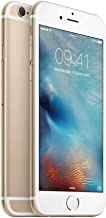 ابل ايفون 6s  مع  فيس تايم - 128 جيجا، الجيل الرابع LTE، ذهبي -  مجدد رسميا ومضمون بواسطة ابل