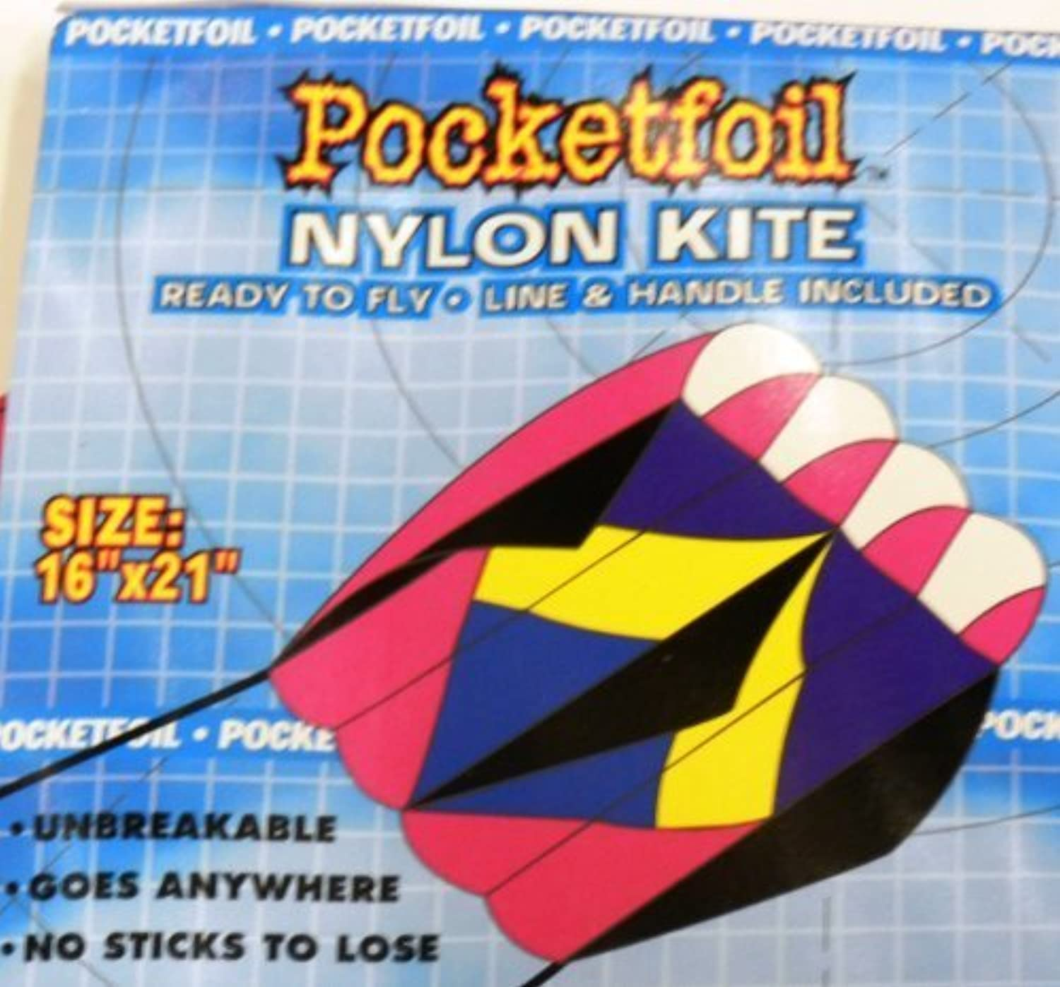 Pocketfoil with Line & Handle Included by Spectra Sports