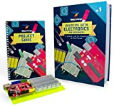 INCLUDES PROJECT GUIDE - Build your own electronic games, musical toys, and more with our 62-page full-color project guide. Includes building instructions, programming code and more for 14 thrilling projects you can explore. INNOVATIVE DESIGN - MakeX...