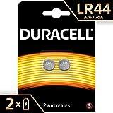 Duracell Spéciale Piles Bouton Lithium type LR44, Lot de 2