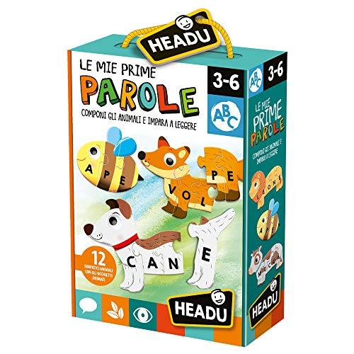 Headu-Le Mie Prime Parole Giochi Educativi, Multicolore, IT23127