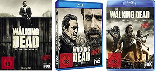 The Walking Dead - Staffel 1-8 [Blu-ray]