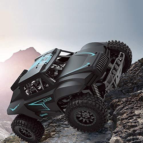 Ycco Hochgeschwindigkeits elektrische wiederaufladbare Buggy Race Mini RC Auto Fahrzeug Super große km/h 4WD drahtlose Fernbedienung Racing Truck 2,4 GHz Geländewagen Crawler Monster for Kinder Erwa