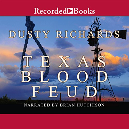 Texas Blood Feud audiobook cover art