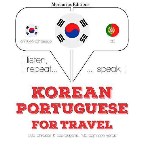 Korean – Portuguese. For travel cover art
