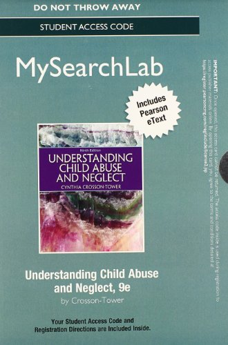 MyLab Search with Pearson eText -- Standalone Access Card -- for Understanding Child Abuse and Neglect (9th Edition)