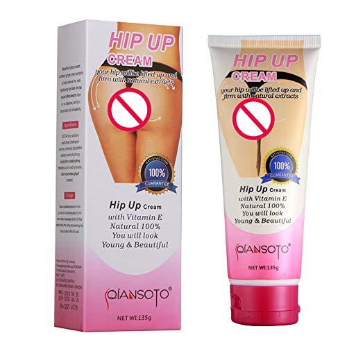 Libison Hip Lifting Cream, Natural Herbal Extract Essential Oil Best Effective Lift Up Butt Bigger Buttock Cream Enlargement Natural Cellulite Bella Enhancement Booty Enhance Fast