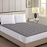 AVI Super Soft 500 GSM Mattress Padding/Topper for Comfortable Sleep -Grey -5ft x 6ft - Small...