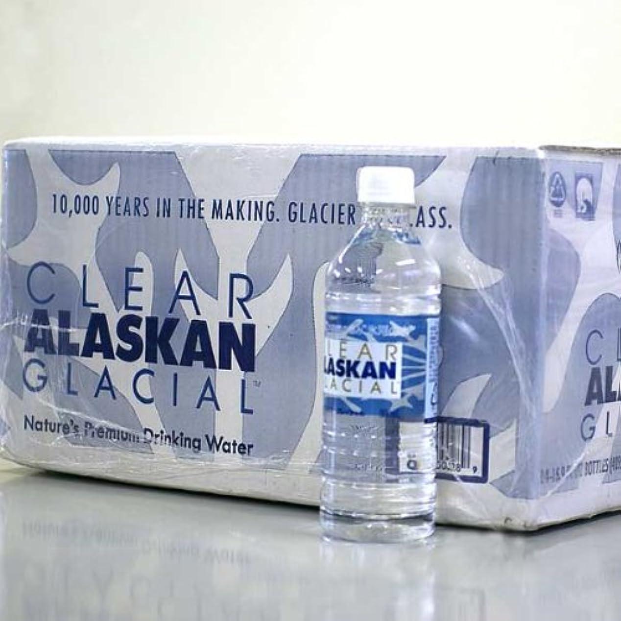 愛されし者バッグありふれたアラスカ 氷河の水 クリアアラスカングレイシャル 500ml × 24本