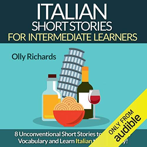 『Italian Short Stories for Intermediate Learners』のカバーアート