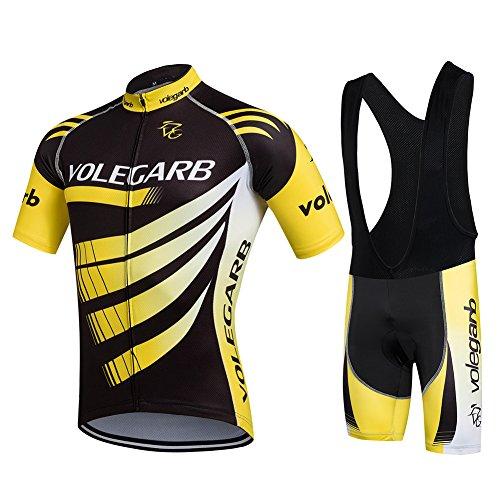 Ropa Ciclismo Verano para Hombre - Cornasee Ciclismo Maillot y Culotte...