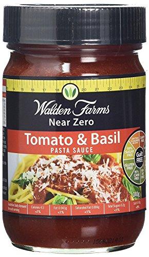 Walden Farms Kalorienfreie Pasta Sauce 340g Tomaten und Basilikum