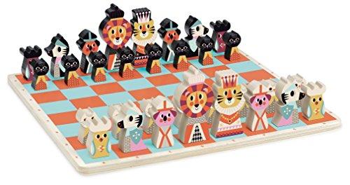 Vilac Primer Juego de ajedrez, Multicolor (PODBI Vilac7721)