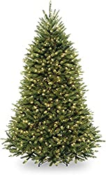 in budget affordable The National Wood Company ignited an artificial Christmas tree with pre-stretched white lights and stands …