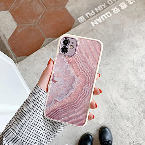 para iPhone 12 Pro Case Heart Flowers Phone Case para iPhone 12 Mini 11 Pro MAX 8 7 Plus X XS MAX XR Soft TPU Marble Bumper Case-For_iPhone_X_or_XS_T10