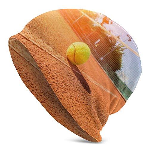Balle de Tennis épaulard Natation sous-Marine Bulles Bonnet Bonnet pour Hommes et Femmes - Chapeau Unisexe Chaud à Revers crâne en tric
