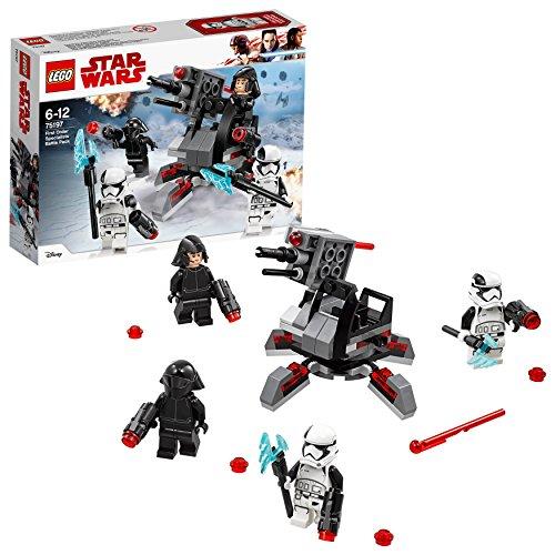 Lego Sa (FR) 75197 Star Wars - Jeu de construction - Battle Pack experts du Premier Ordre