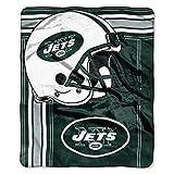 NFL New York Jets 'Touchback' Raschel Throw Blanket, 50' x 60'
