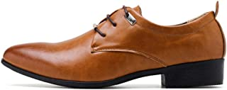 Classic Comfortable Dress Men's Wedding Shoes, Dress Leather British Business Shoes
