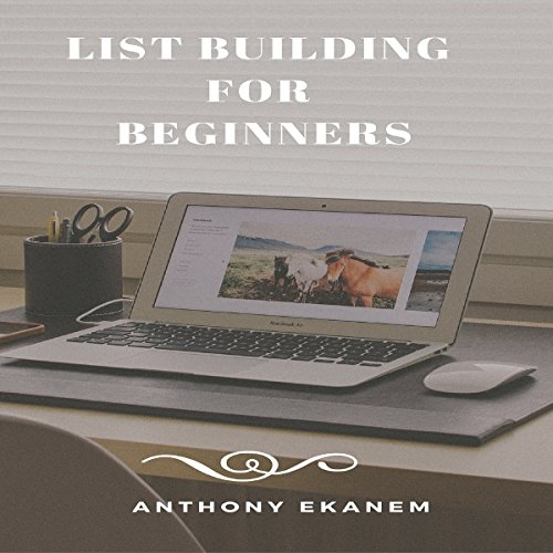 List Building for Beginners audiobook cover art