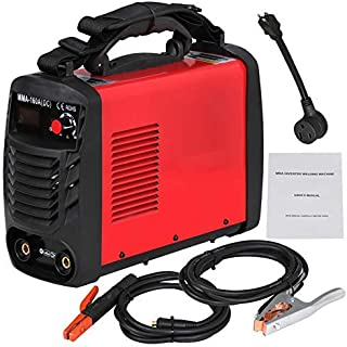 HomGarden MMA ARC Welding Machine 160AMP 110/230V Dual Voltage DC Inverter Welder System Portable